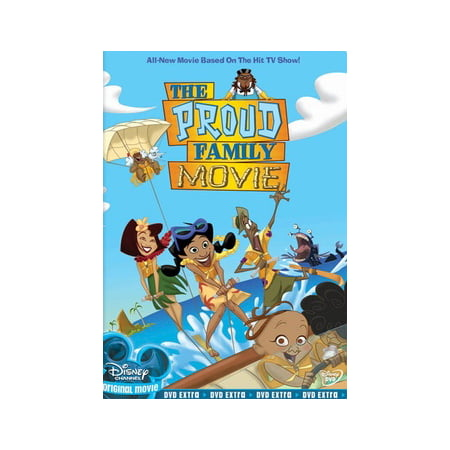 Good Family Halloween Movies (The Proud Family Movie (DVD))
