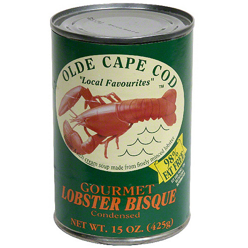 Olde Cape Cod Gourmet Condensed Lobster Bisque Soup, 15FO (Pack of 6)