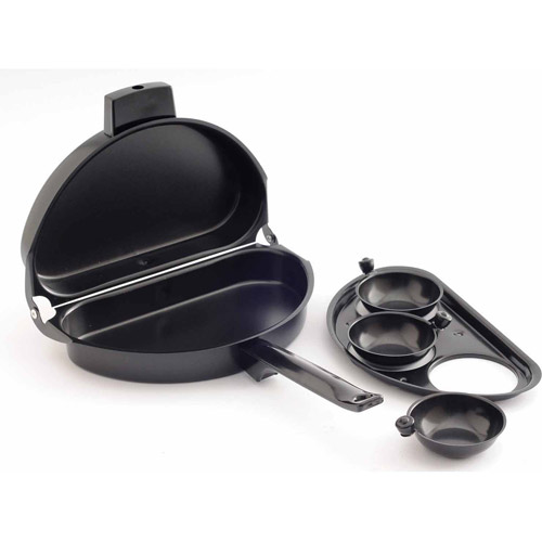 Norpro Black Non-Stick Omelet Pan