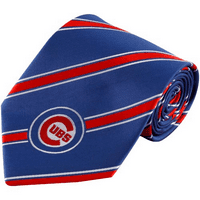 Chicago Cubs Woven Poly Tie - No Size