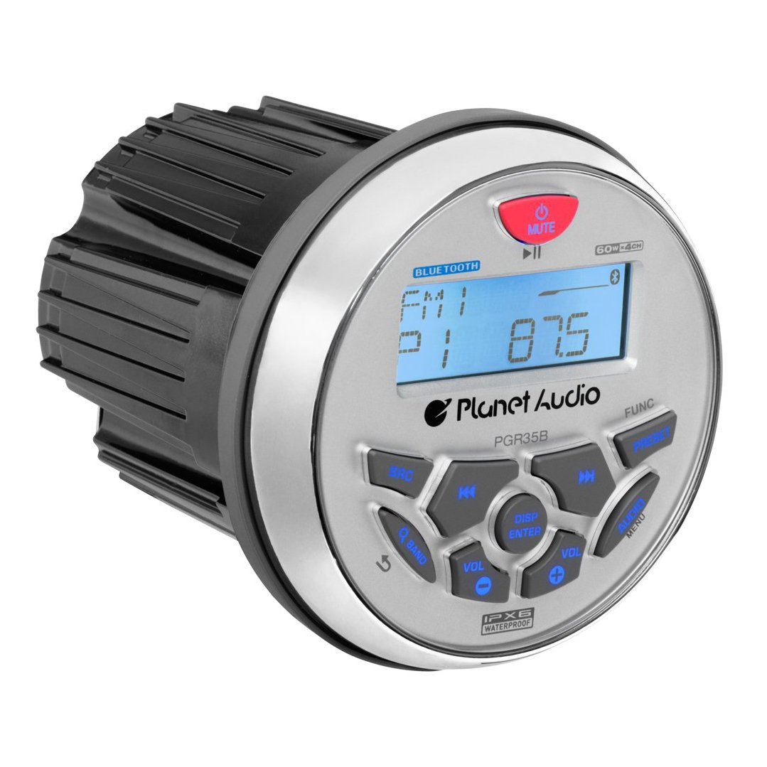 Planet Audio Gauge MECH-LESS Multimedia Player (no CD DVD) by Planet Audio
