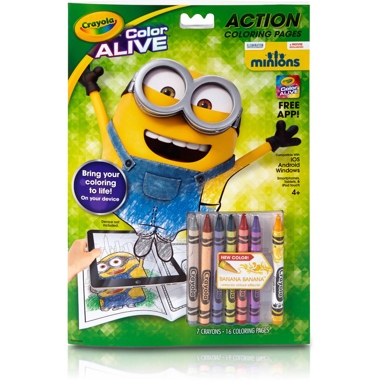 Crayola Color Alive, Minions