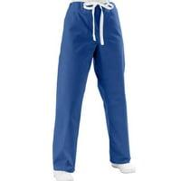e4c6a1c8123 Product Image Medline Unisex Reversible Sapphire Scrub Pants
