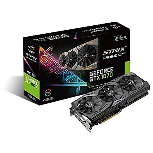 Asus Strix-Gtx1070-O8G-Gaming Graphics Card - STRIX-GTX1070-O8G-GAMING