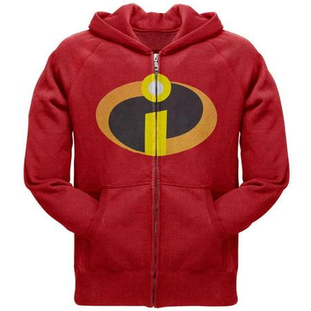 The Incredibles - Costume Zip Hoodie - Halloween Zip