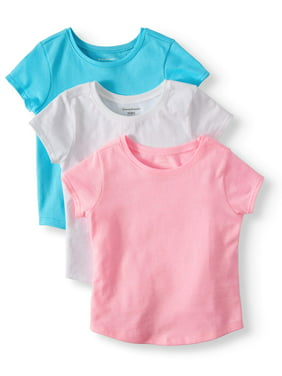 Toddler Girls Tops   T-Shirts - Walmart.com ddb7c0f09