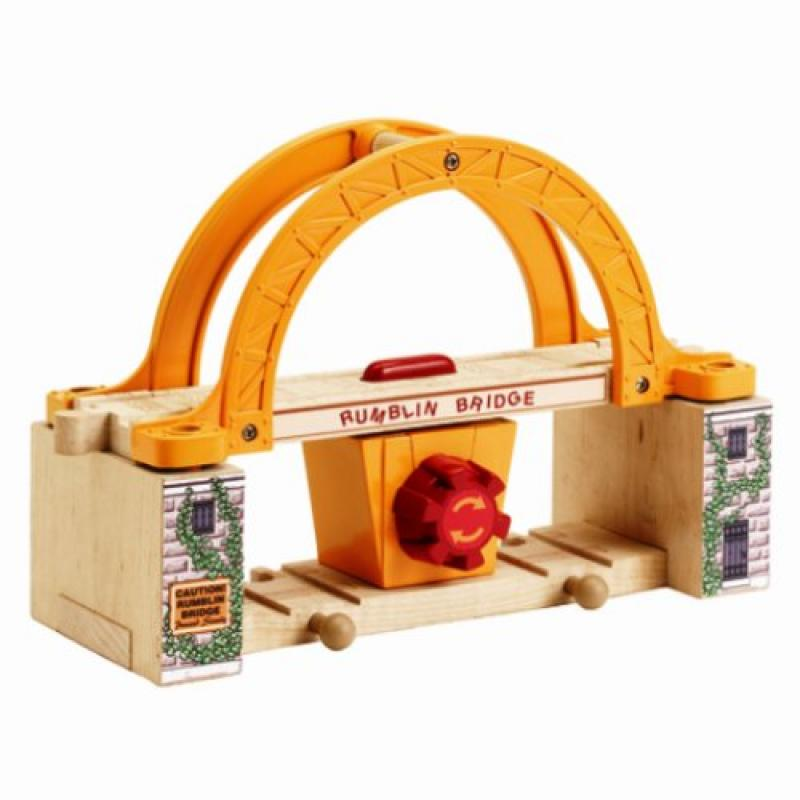 Thomas And Friends Wooden Railway Rumblin Bridge (Colors May Vary) by