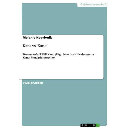 Kant vs. Kane! - eBook