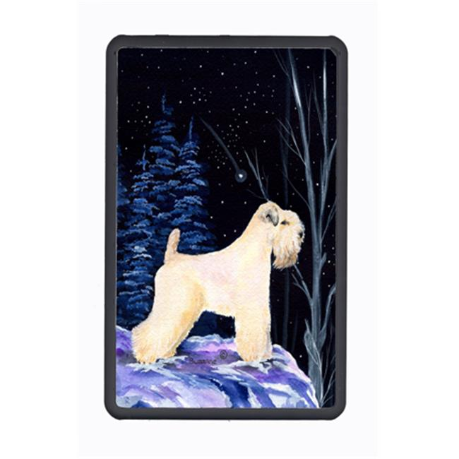Carolines Treasures SS8386KFC Starry Night Wheaten Terrier Soft Coated Kindle Fire Snap on Case
