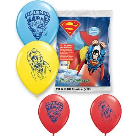 Set of 6 Superman 12