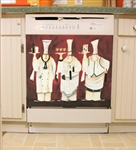 Appliance Art 3 Chefs Custom Dishwasher Cover