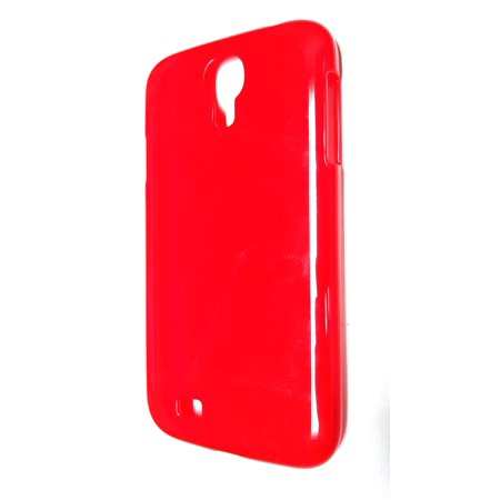 Radioshack Samsung Galaxy S4 Snap On Cell Phone Case   Red