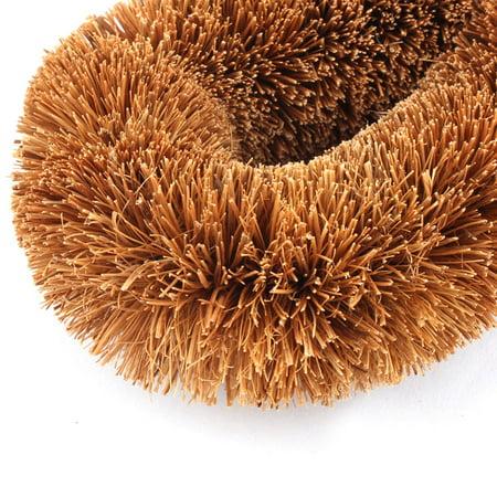 Household Kitchen Plastic Handle Pot Dish Cleaning Brush Purple 24.5cm Lenght - image 1 de 3