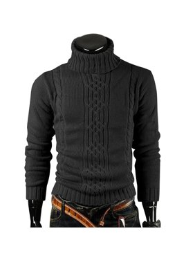 Product Image Men s Knitted Pullover Casual Sweater Men Pullovers Autumn  Winter Long Sleeve TurtleNeck Knitwear Sweaters 2ec1bddcf