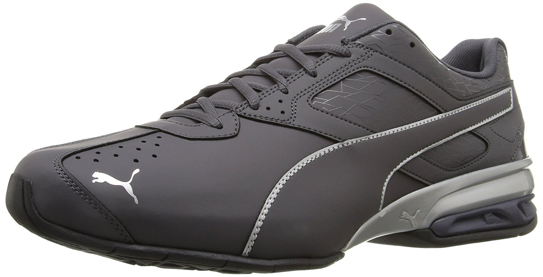 PUMA PUMA Men's Tazon 6 Fracture FM Cross Trainer Shoe, Periscope Silver, 11 M US