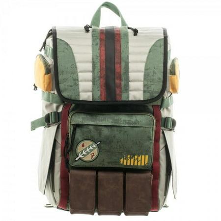 Boba Fett Suit (Backpack - Star Wars - Boba Fett Laptop New Licensed)