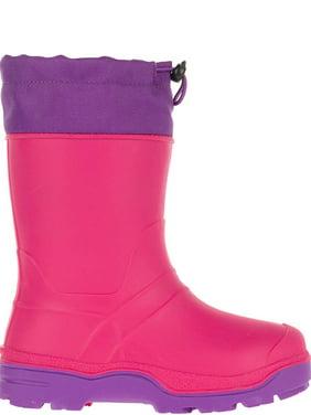 Wonder Nation Waterproof Temperature Rated Snow Boot (Little Girls & Big Girls)