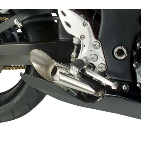 - Hotbodies Racing 60802-2100 Megaphone Dual Slip-On Exhaust - Polished