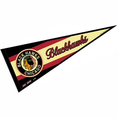 Chicago Blackhawks Vintage Throwback Full Size Pennant