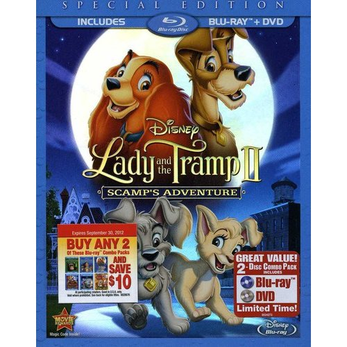 Lady And The Tramp II: Scamp's Aventure (Special Edition) (Blu-ray + DVD) (Widescreen)