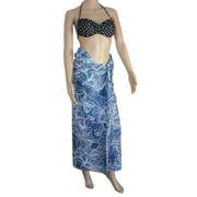 Womens 'Chris' Pareo Cloth Skirt/Dress, Fushia, 72 x 45