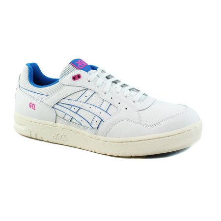 - ASICS Mens Gel-Circuit White/Directoire Blue Casual Tennis Sneaker Shoes