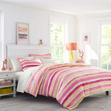 Poppy Comforter Set (Poppy & Fritz Alex Pink Comforter Set, Full/Queen )