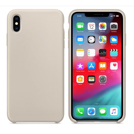 Ultra-Thin Silicone Leather Soft Case Cover For iPhone XS 5.8inch