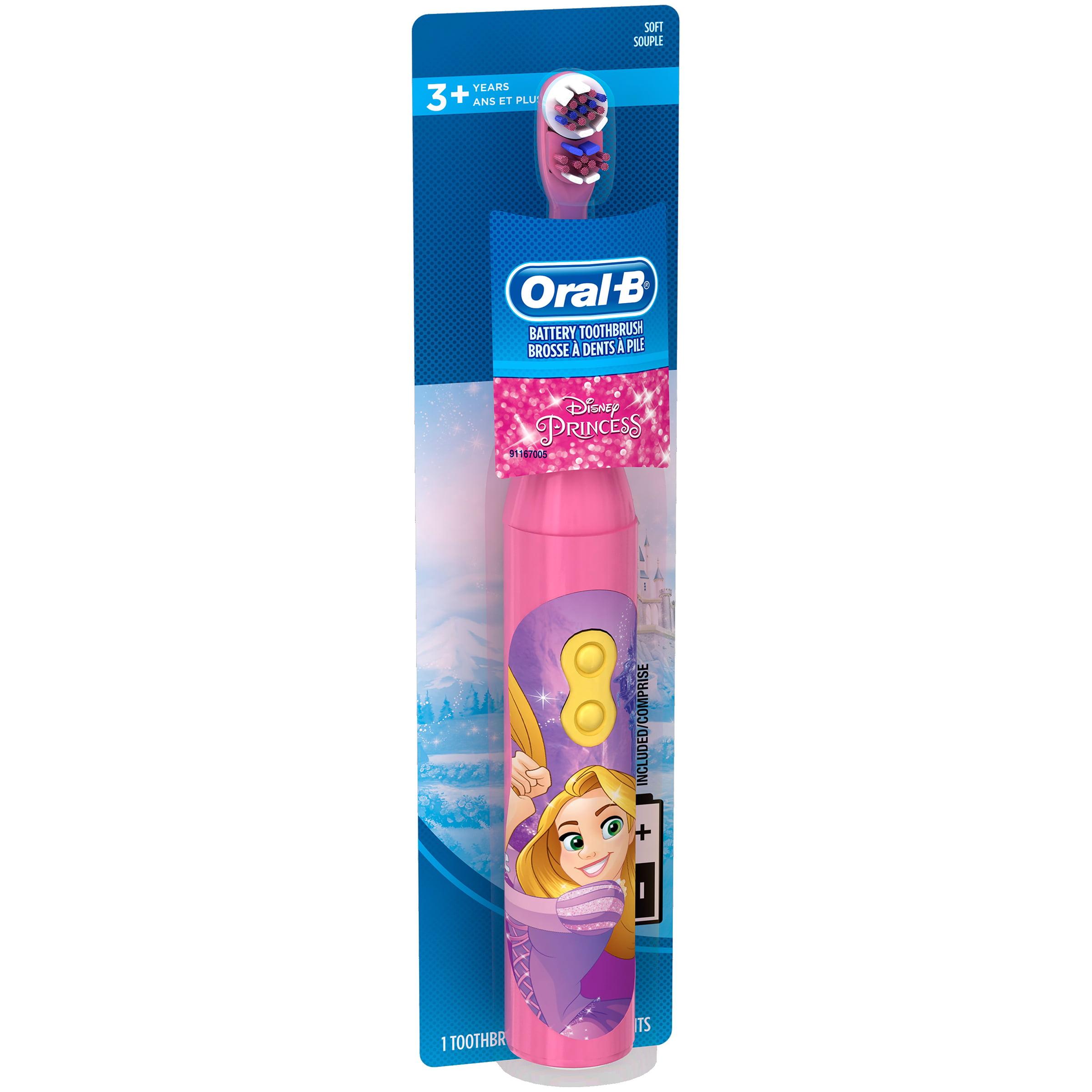 OralB Disney Princess Battery Toothbrush Walmartcom