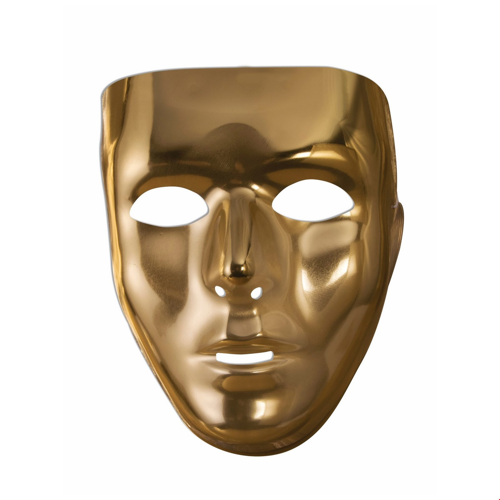 Exceptional Gold Full Face Mask Halloween Costume Accessory
