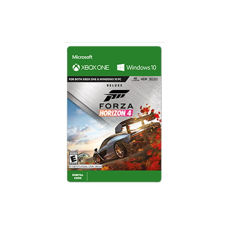 Forza Horizon 4 Deluxe Edition, Microsoft, Xbox, [Digital Download]