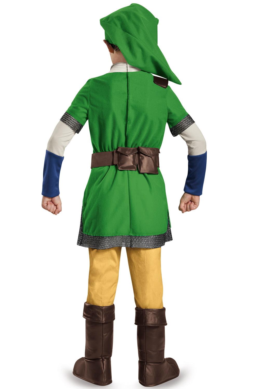 sc 1 st  Walmart & Zelda Link Deluxe Child Halloween Costume - Walmart.com