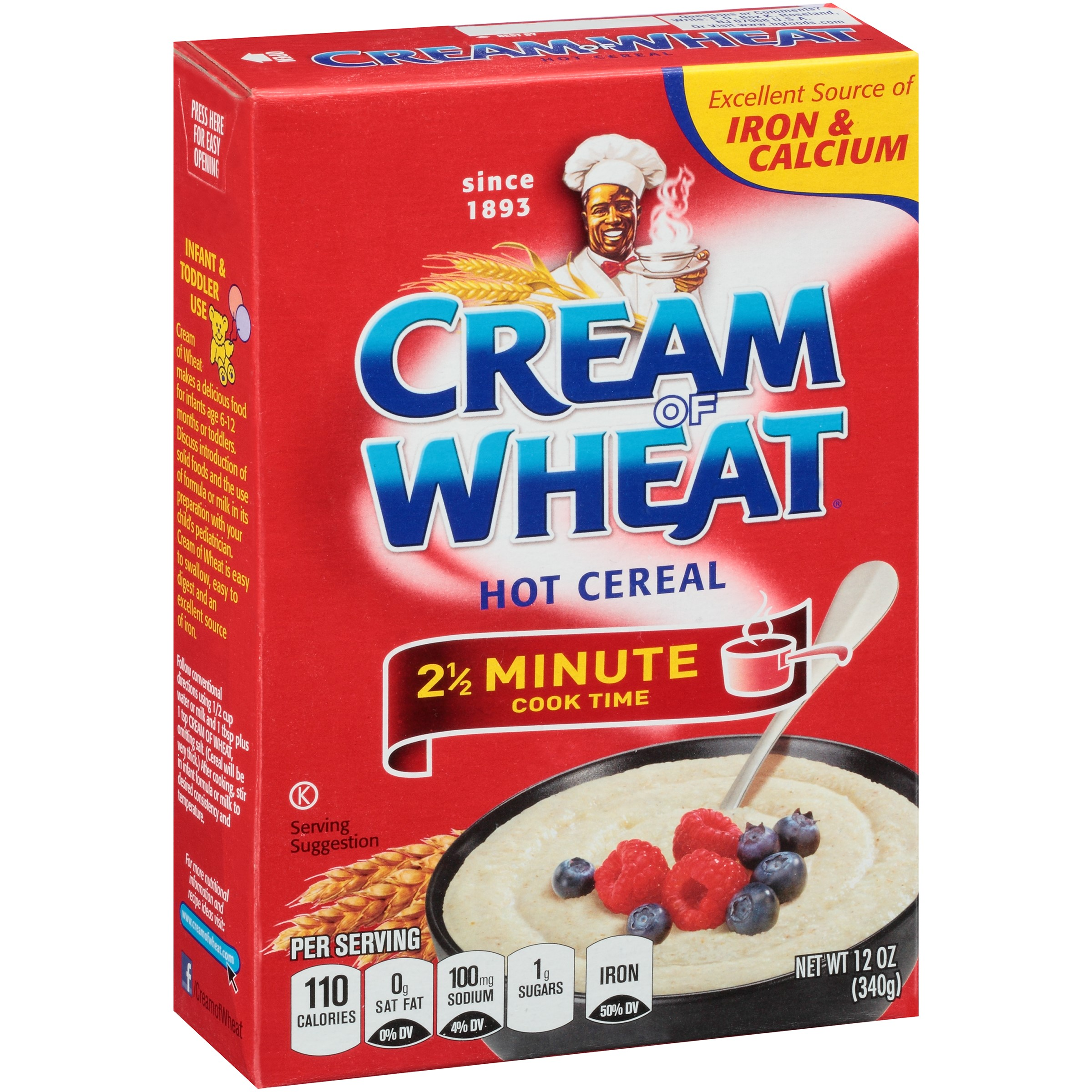 Cream Of Wheat Stove Top Hot Cereal, Original, 12 Oz
