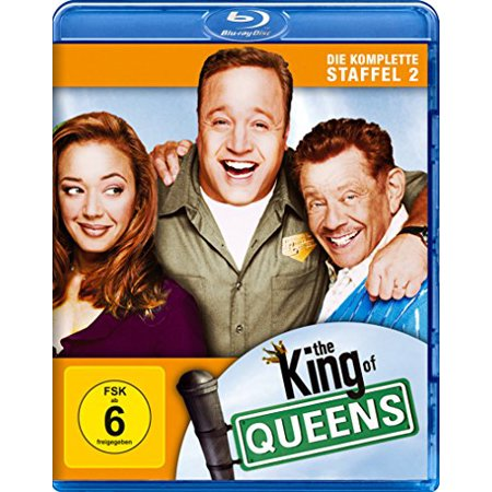 The King of Queens (Complete Season 2) - 2-Disc Set ( The King of Queens - Season Two (25 Episodes) ) [ Blu-Ray, Reg.A/B/C Import - Germany