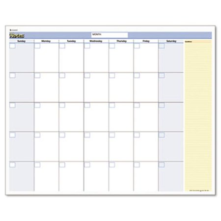 At-A-Glance PM550B28 QuickNotes Reversible Erasable Monthly/Yearly Wall Calendar  16 x 12 (Erasable Monthly Wall Calendar)