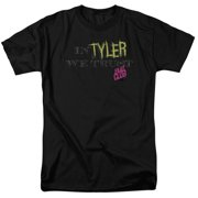 Fight Club - In Tyler We Trust - Short Sleeve Shirt - Small