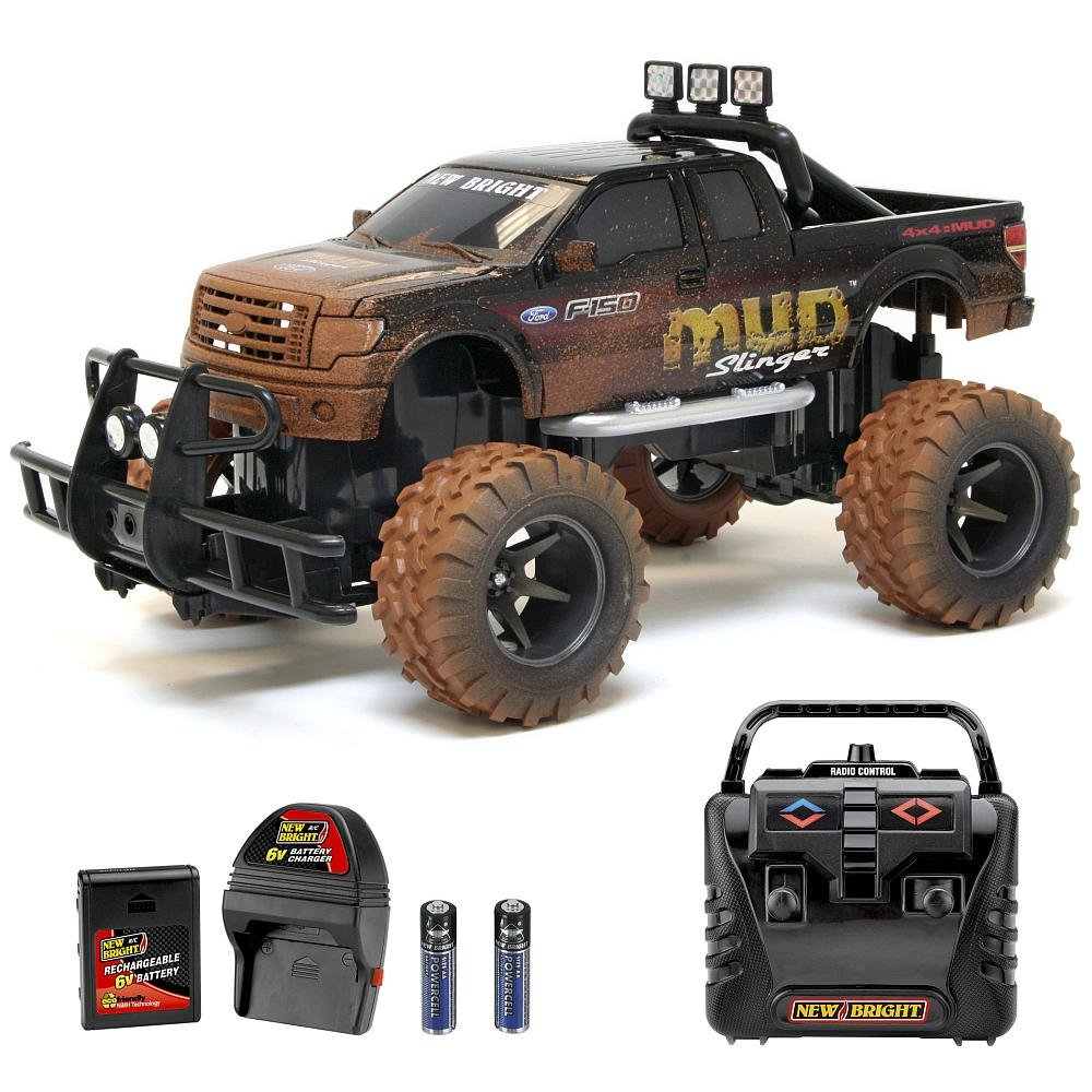 New Bright 1:15 Mud Slinger Radio Control Vehicle - Ford ...