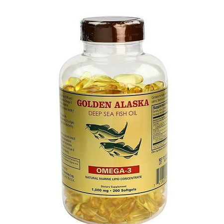 Nu Health Alaska Deep Sea Omega-3 Fish Oil 1000 Mg EPA & DHA - 200 Softgels