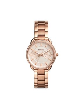 Fossil Women's Tailor Rose-Gold Stainless Steel Multifunction Watch (Style: ES4264)