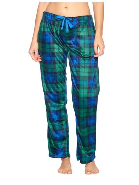 Ashford & Brooks Women's Plush Mink Fleece Pajama Sleep Pants 2 Pack