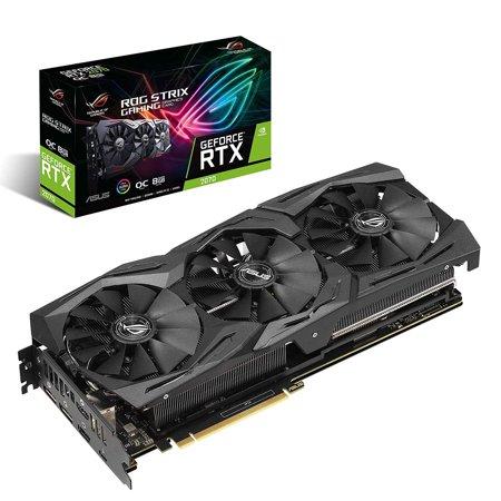 ASUS ROG STRIX GeForce RTX 2070 Overclocked 8G GDDR6 HDMI DP 1.4 USB Type-c (ROG STRIX RTX2070-O8G)