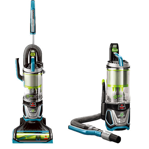 BISSELL Pet Hair Eraser Lift-Off Bagless Upright Vacuum Cleaner, 2087