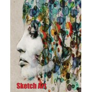 Sketch Art : A Sketch Art Book for Pencil Sketching, Pencil Portraits, Free Drawing, Sketch Art and Pencil Art: With Over 100 High Quality Sheets of Large Sized (8.5 Inch by 11.0 Inch) Drawing Paper