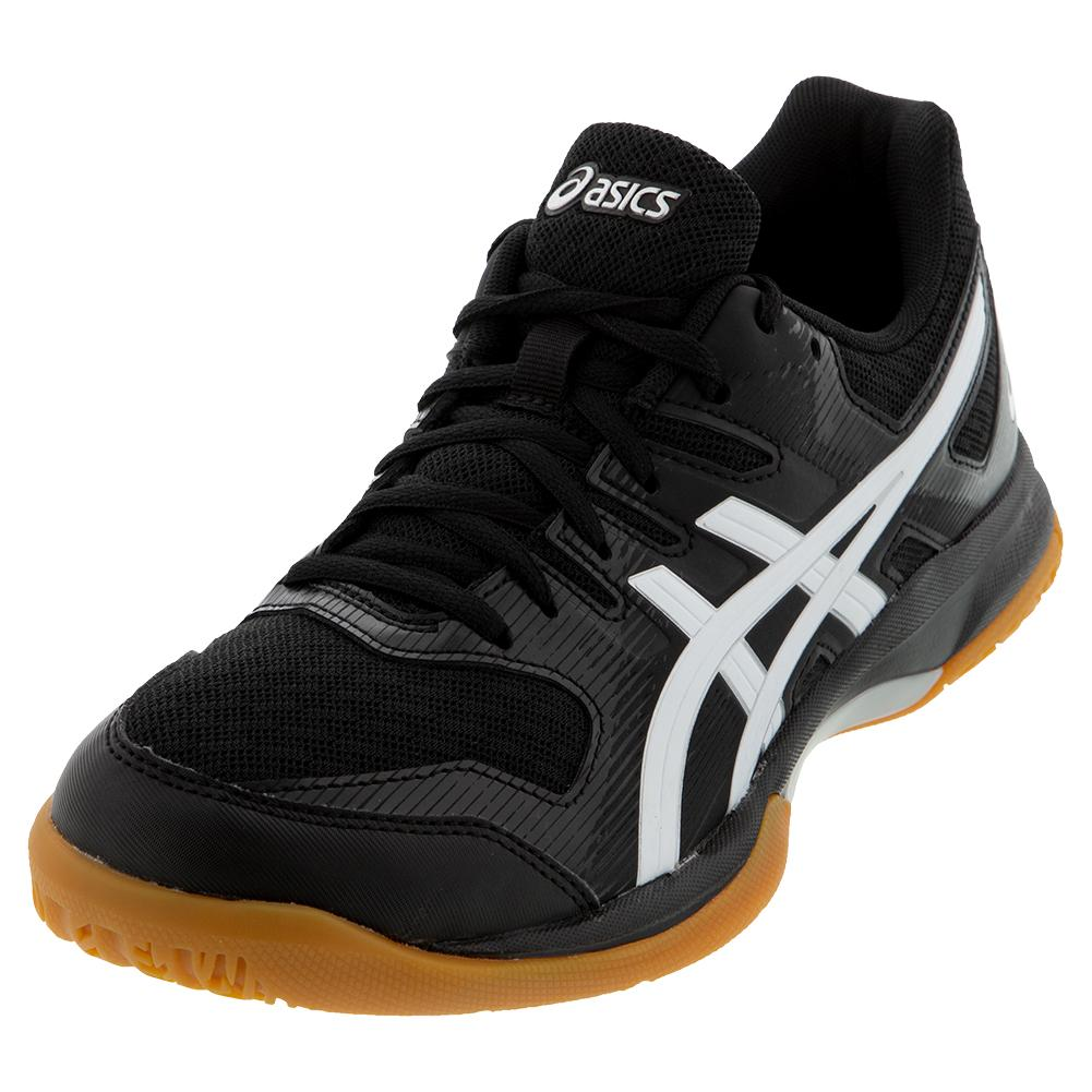 Asics Women`s GEL-Rocket 9 Squash Shoes Black and White ( 9 Black and White ) - Walmart.com