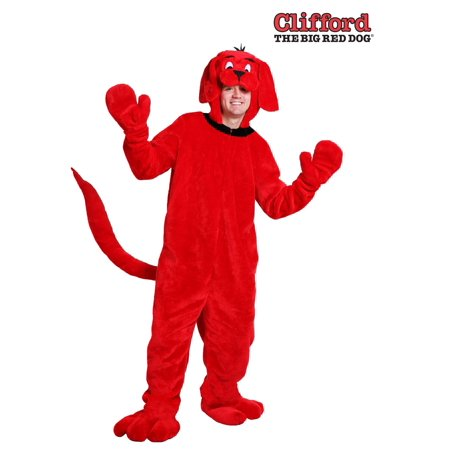 Clifford the Big Red Dog Plus Size Adult Costume