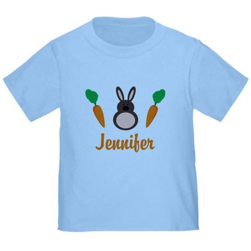 f54253c2 CafePress Easter Bunny Personalized Holiday T-Shirt - Walmart.com