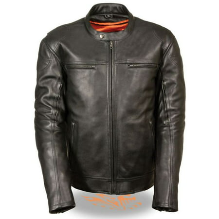 Milwaukee Mens Longer Body Vented Scooter Jacket Black