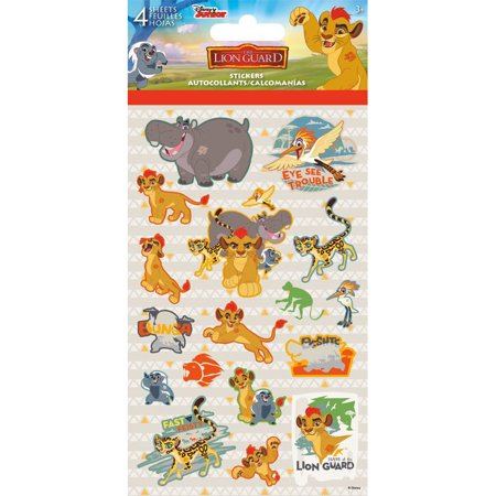 Lion Sticker Sheet (Lion Guard Stickers (4)