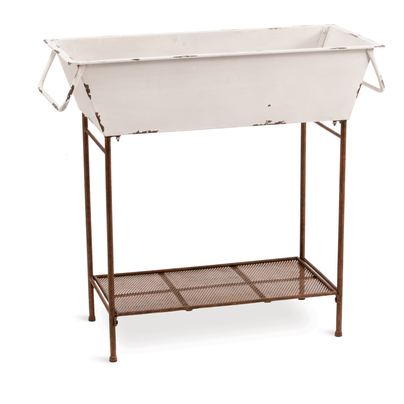 Deer Park Ironworks Large Tub Floor Planter Walmart Com