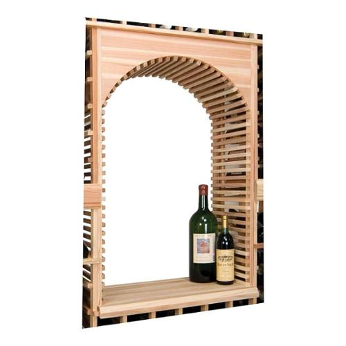 Vintner Archway & Table Top Insert (Rustic Pine - Midnight Black Stain)